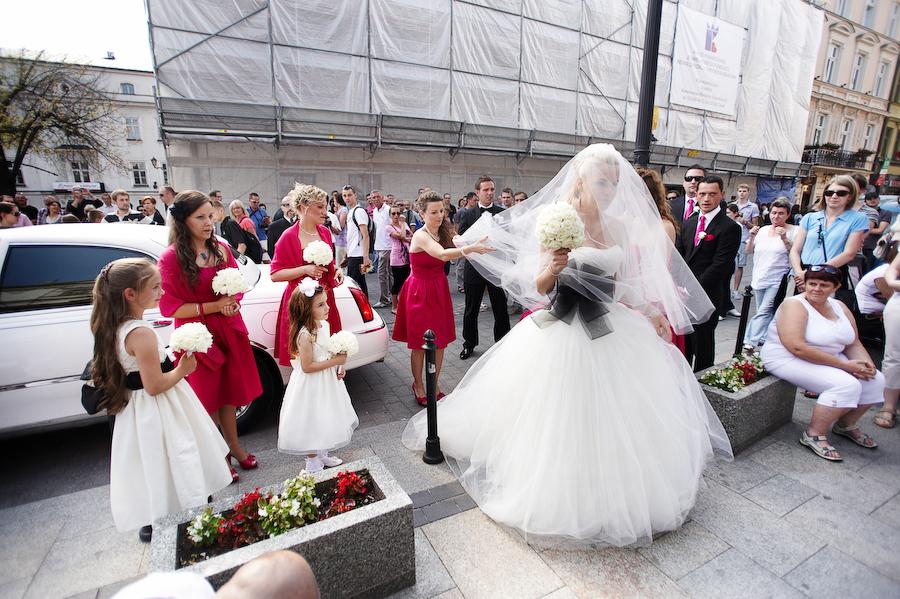 reportaż ślubny Kraków