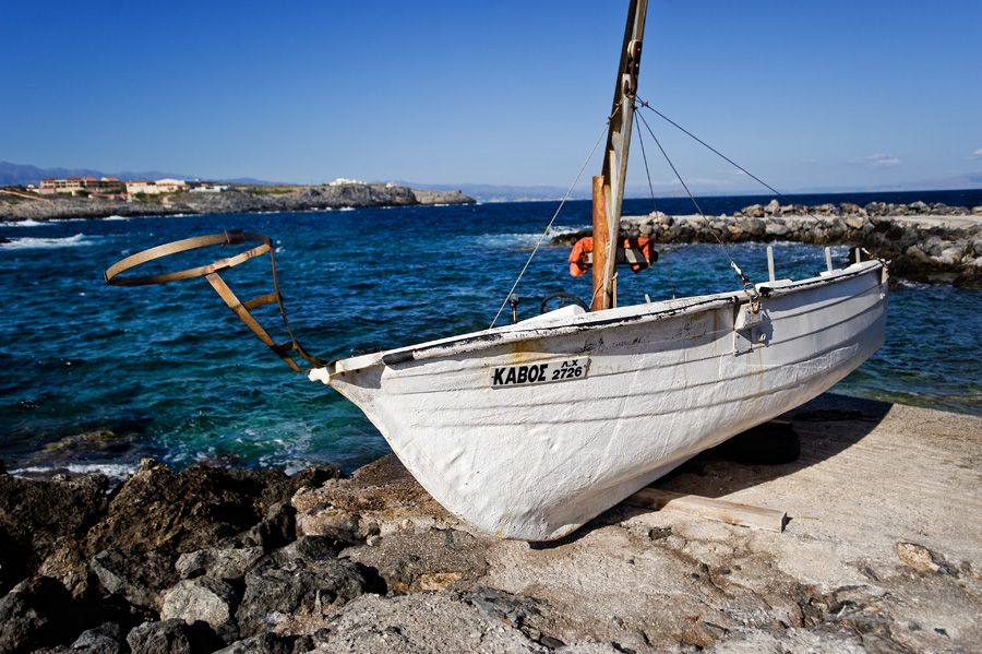 stavros łódka